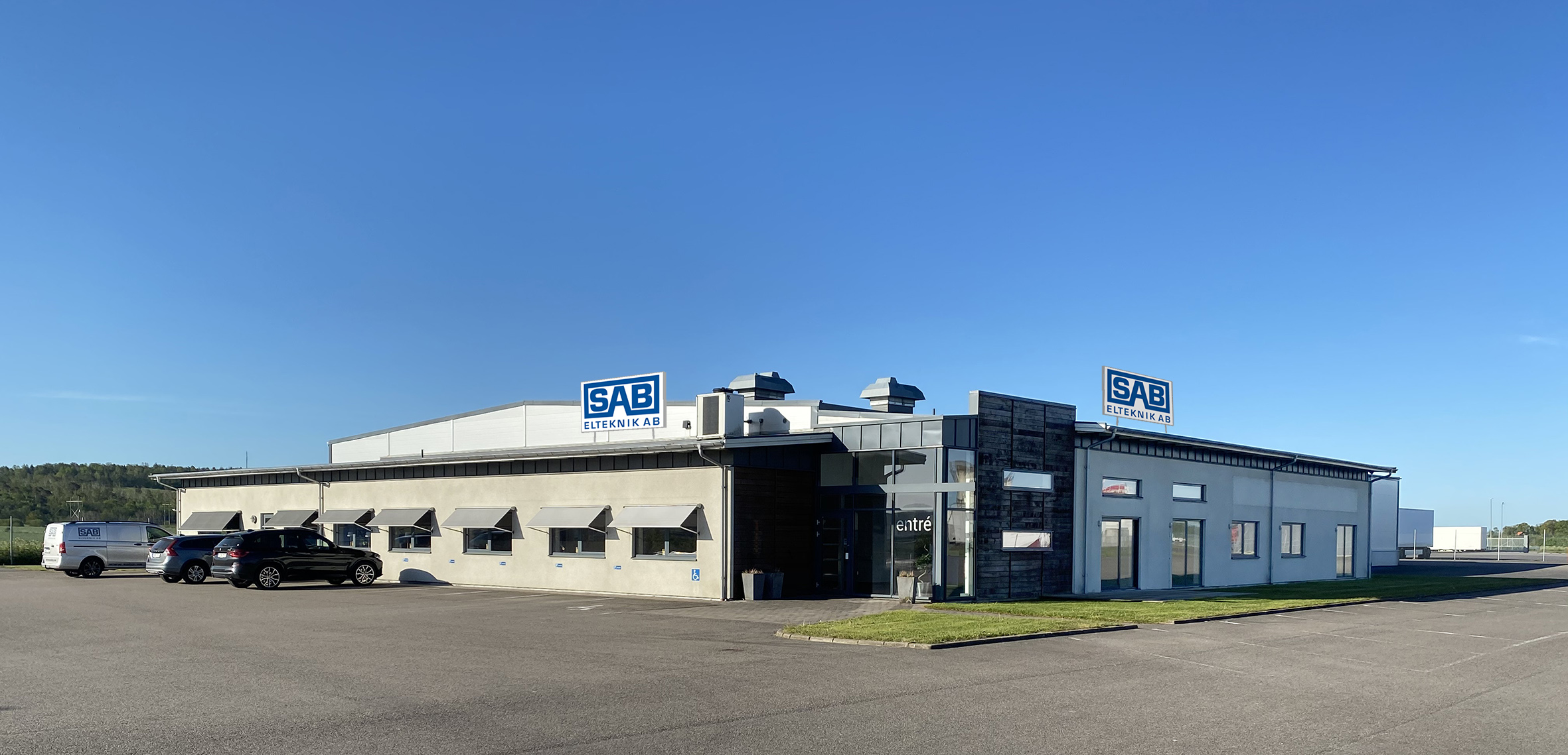 SAB Elteknik nytt huvudkontor